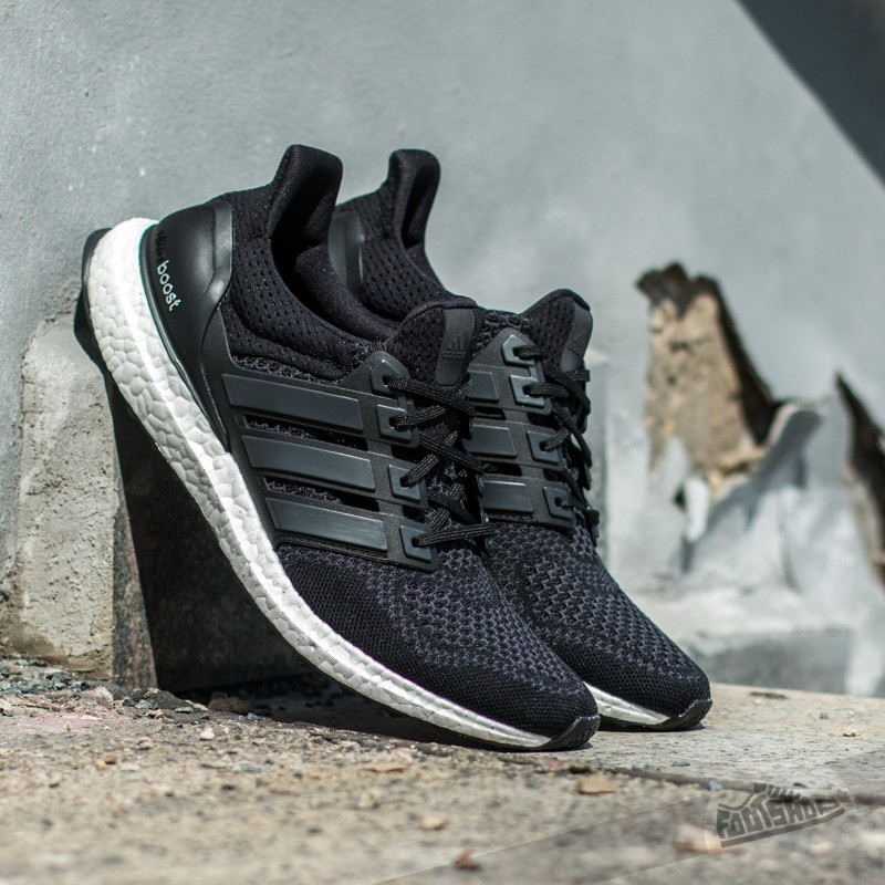 adidas Ultra Boost W Core Black Solar Yellow  25e3c88348f2