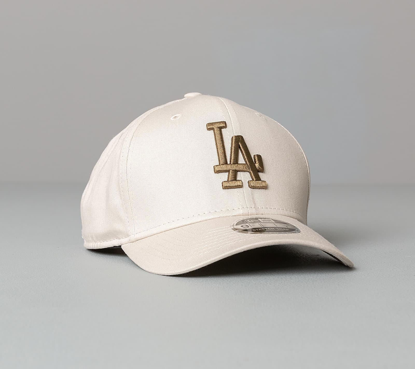 New Era 9Fifty MLB League Essential Stretch Los Angeles Dodgers Cap Cream S/M