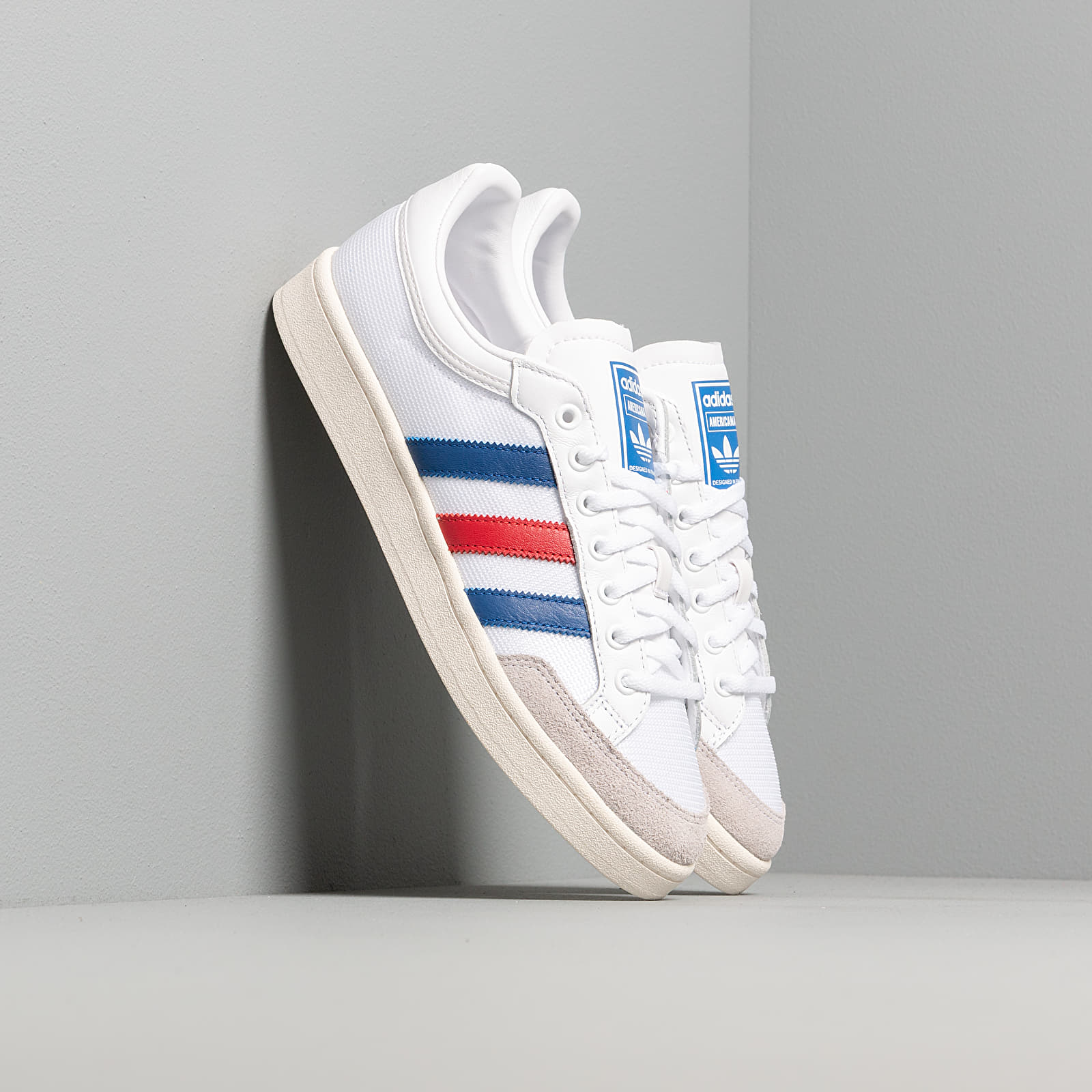 Чоловіче взуття adidas Americana Low Ftw White/ Core Royal/ Scarlet