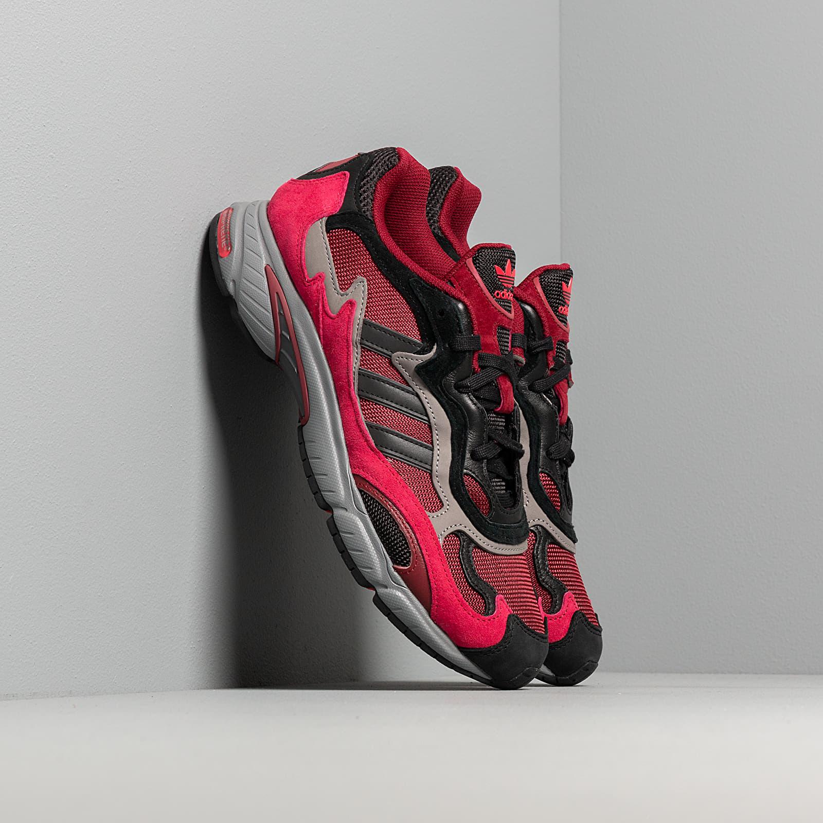 Men's shoes adidas Temper Run Core Burgundy/ Core Black/ Grey Three