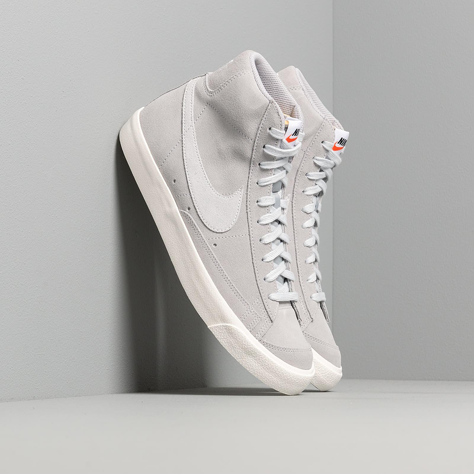 Men's shoes Nike Blazer Mid '77 Suede Wolf Grey/ Pure Platinum-Sail