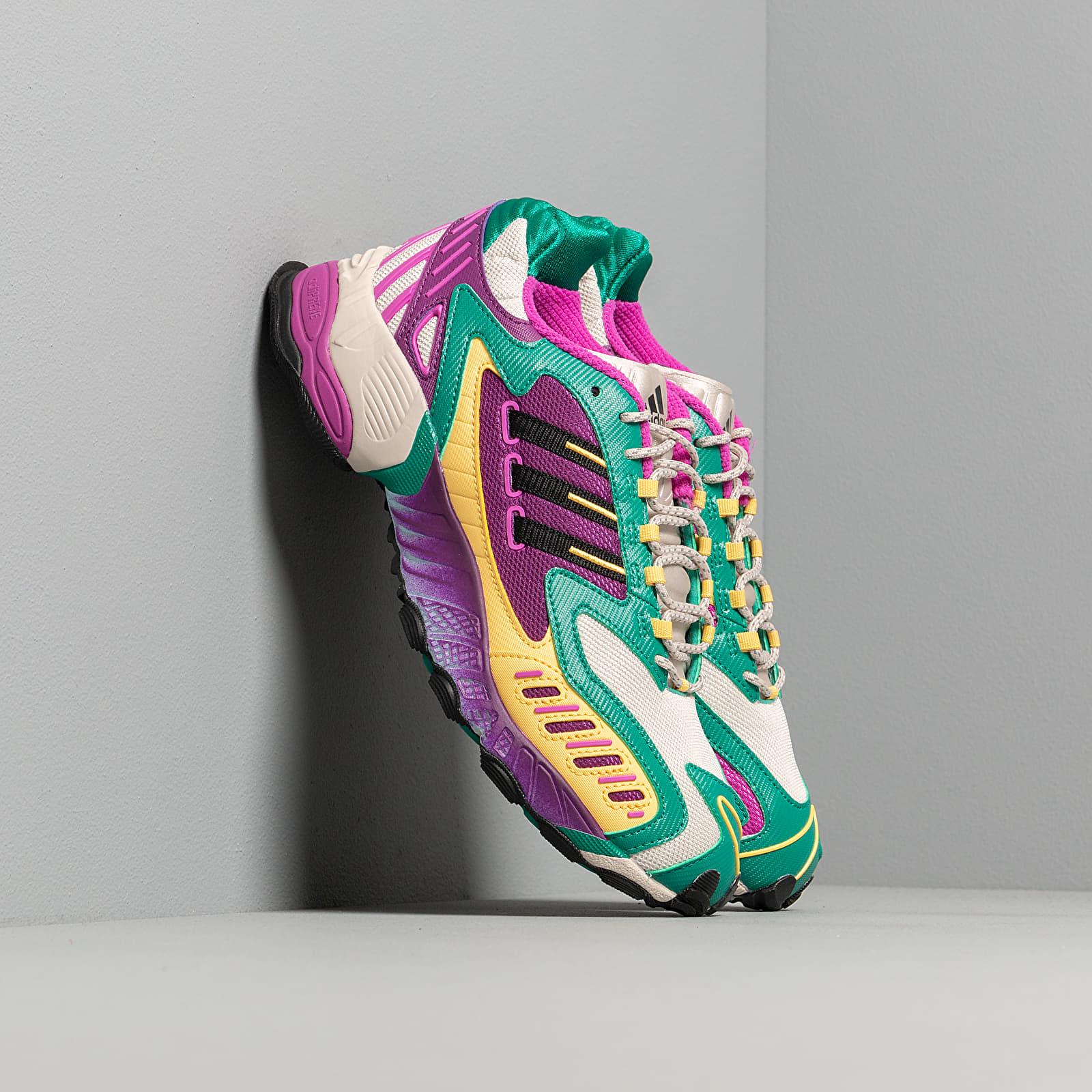 Női cipők adidas Torsion TRDC W Core Brown/ Core Black/ Glow Green