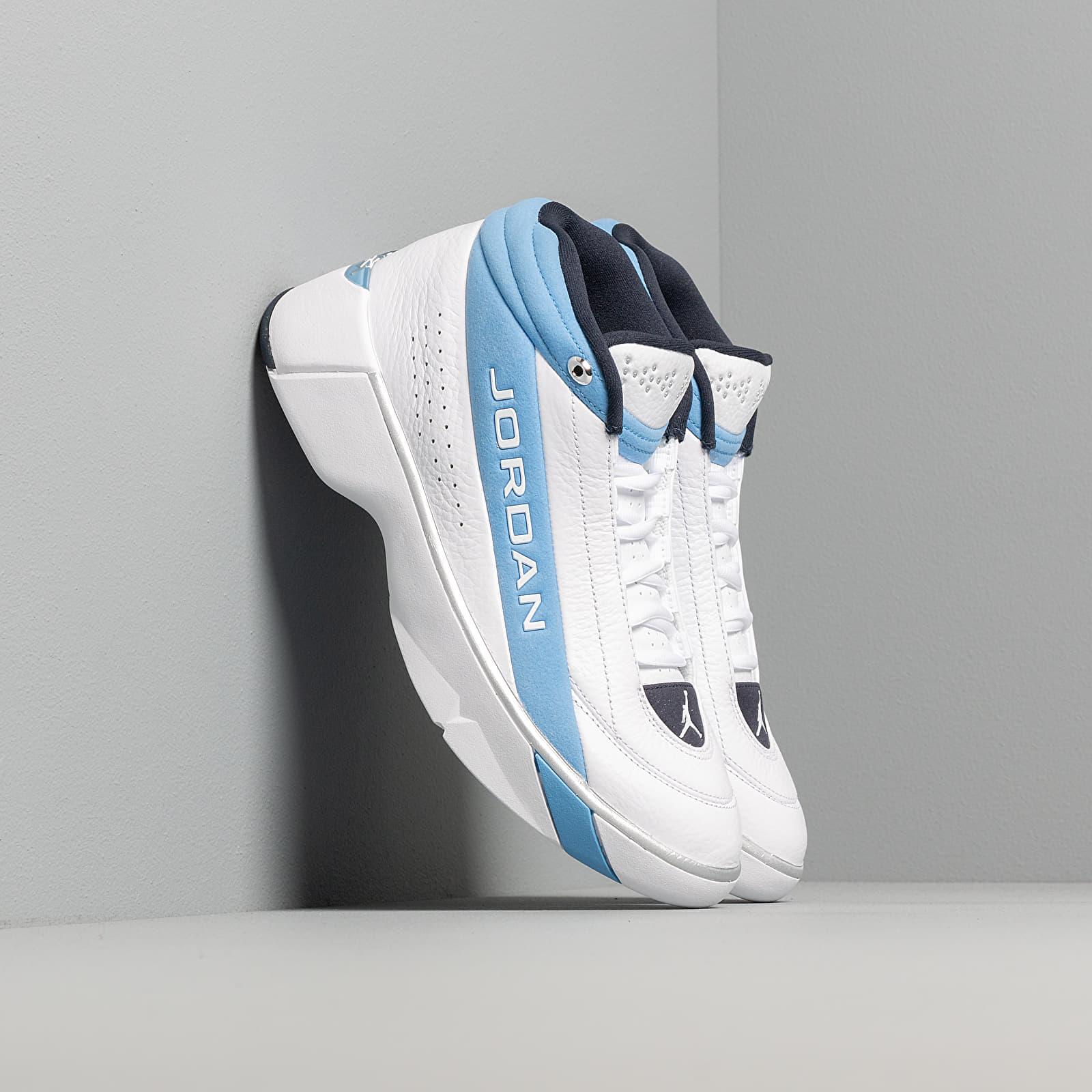 Férfi cipők Jordan Team Showcase True White/ True White-Legend Blue