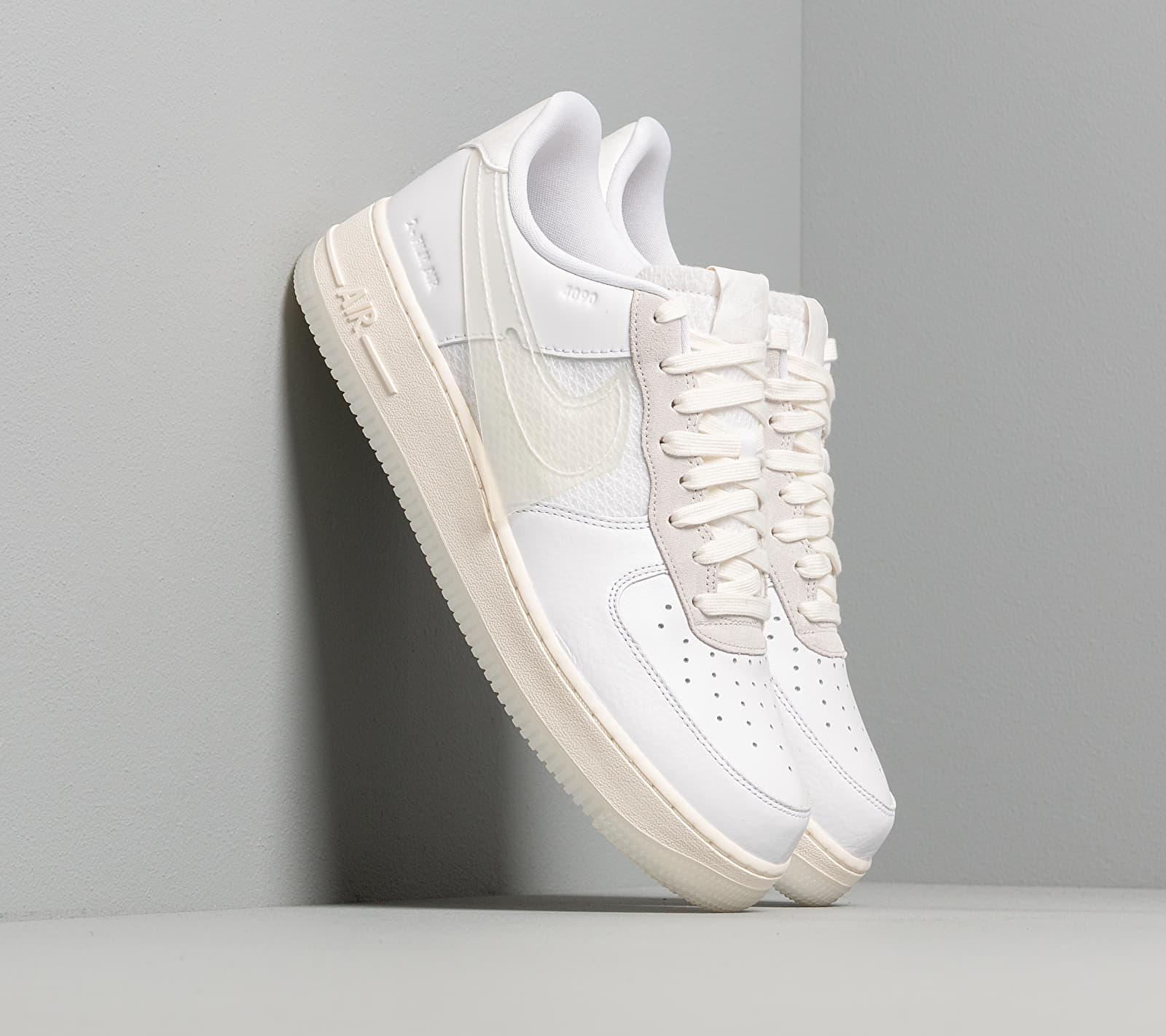 Nike Air Force 1 LV8 White/ White-Sail-Black EUR 46