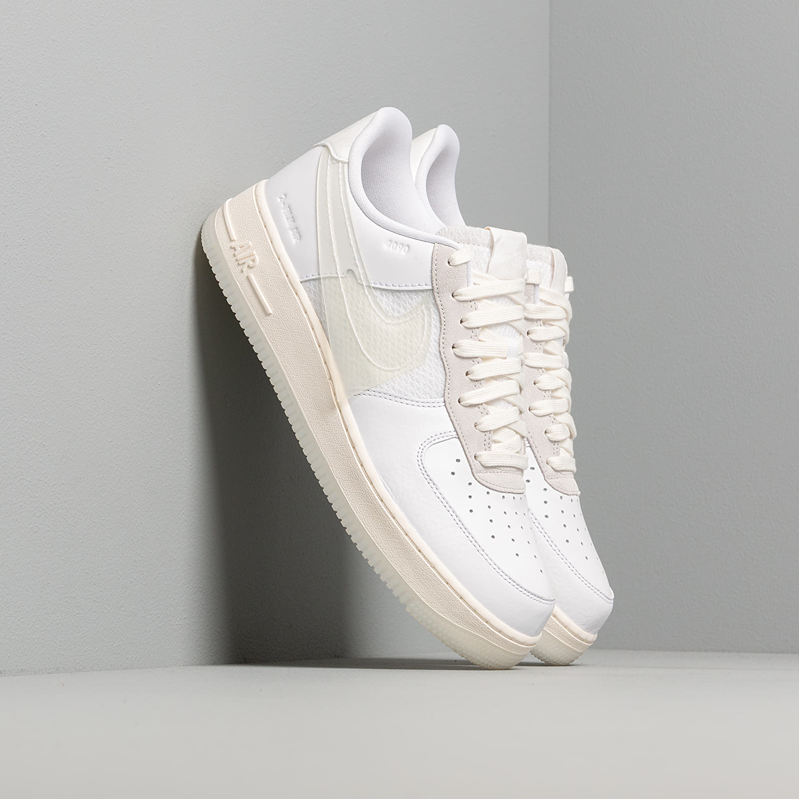 Nike Air Force 1 LV8 White White Sail Black | Footshop