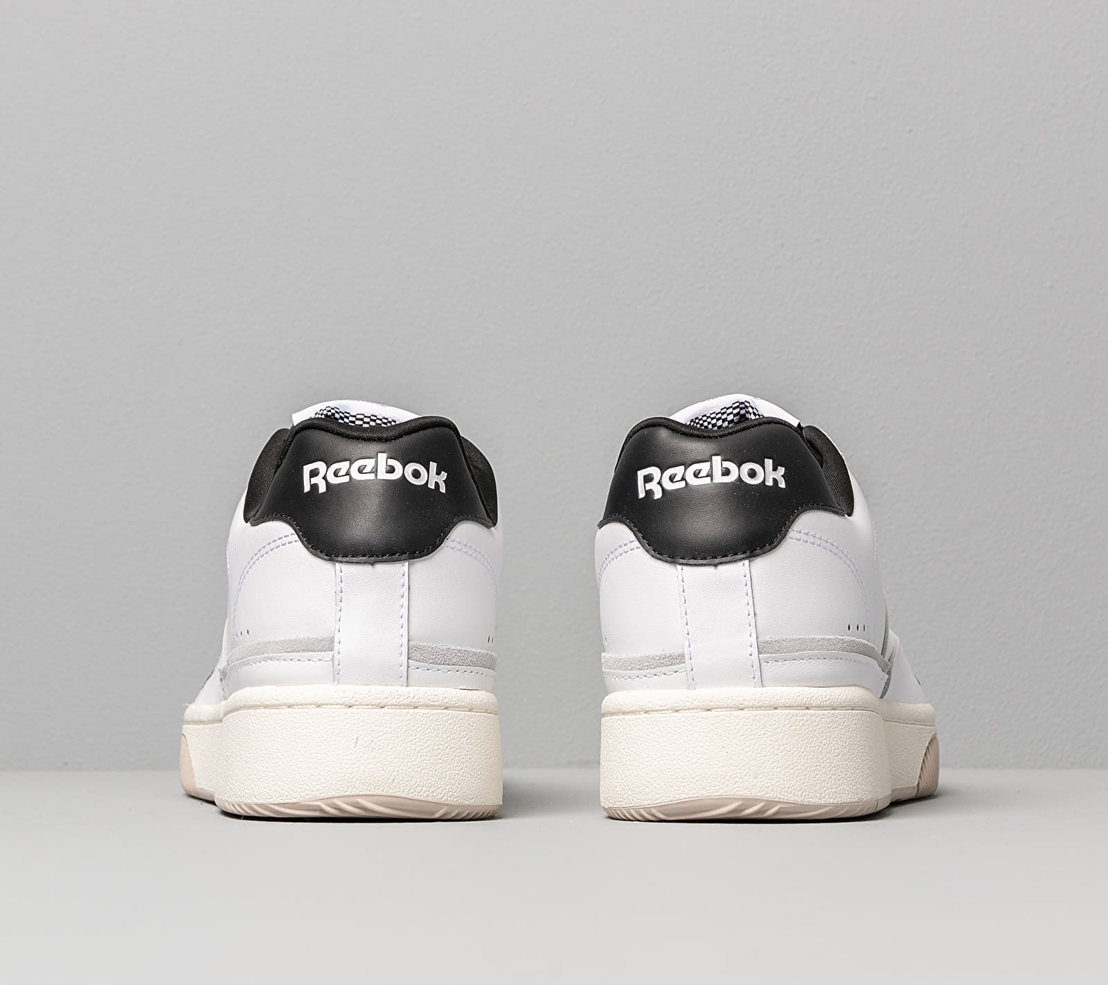 Reebok Dual Court Black/ White/ Cold Grey 2