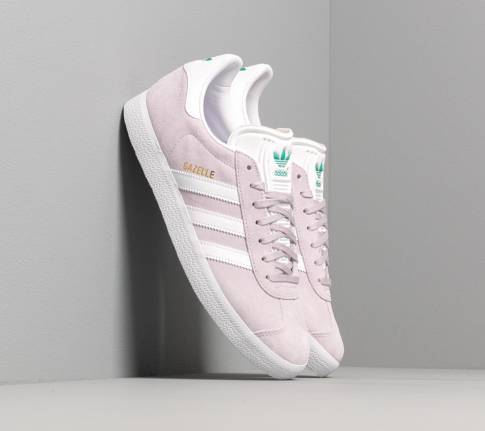 adidas Gazelle W Purple Tint/ Ftw White/ Glow Green EUR 37 1/3