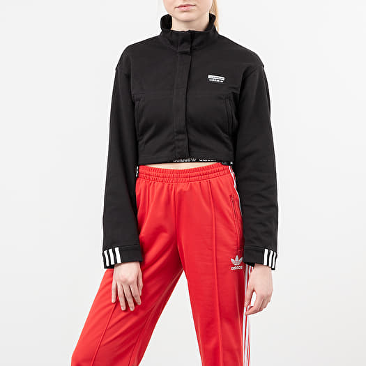 adidas x Olivia Oblanc x Ji Won Choi Superstar Track Top Red