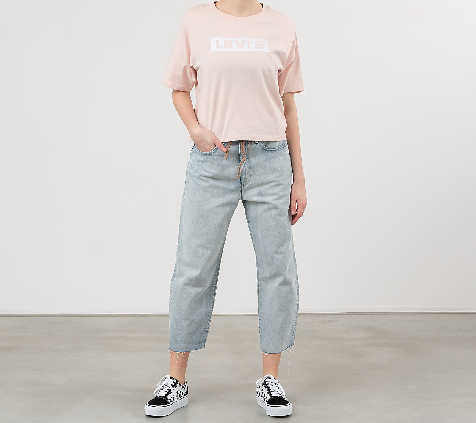 Levi's® Graphic Parker Tee Pink