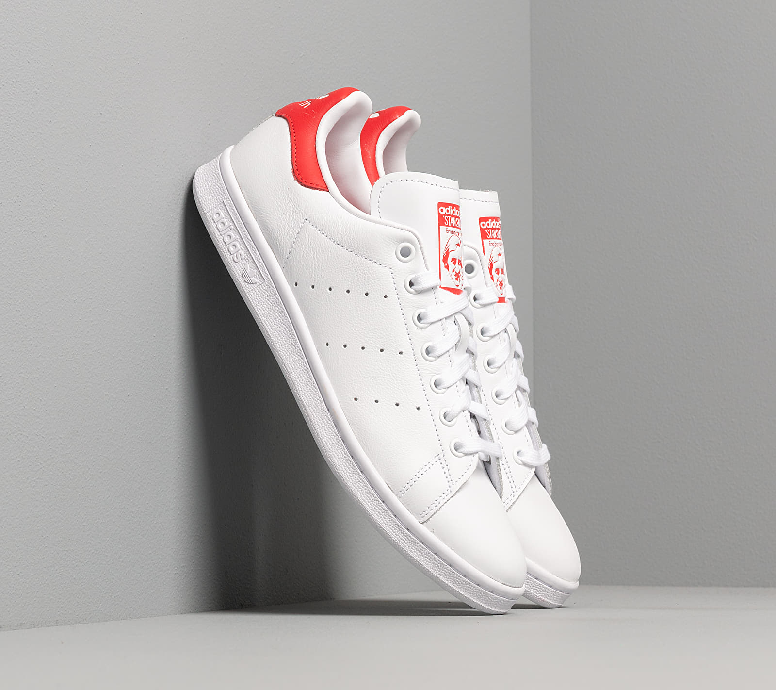 adidas Stan Smith Ftw White/ Ftw White/ Lust Red EUR 46