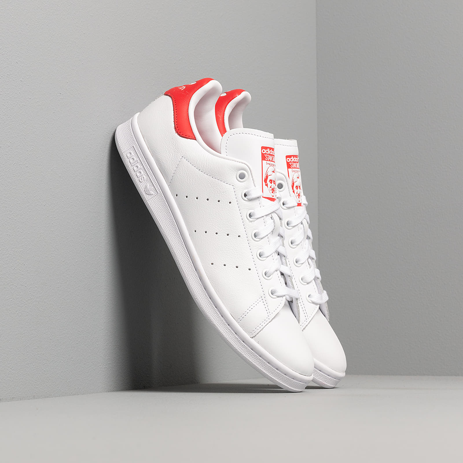 Men's shoes adidas Stan Smith Ftw White/ Ftw White/ Lust Red