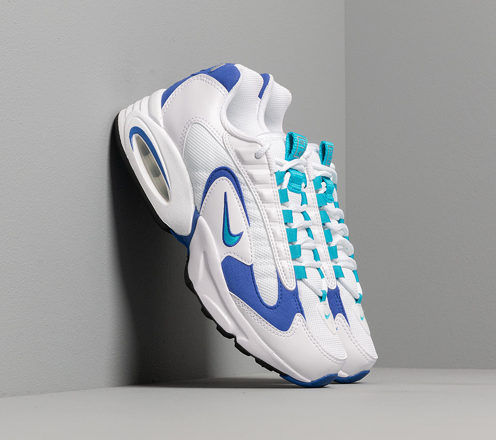 Nike W Air Max Triax White/ Lagoon-Newport Blue-Black EUR 38.5