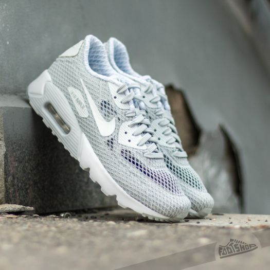 Nike Air Max 90 Ultra BR Plus QS Pure PlatinumWhite | Footshop