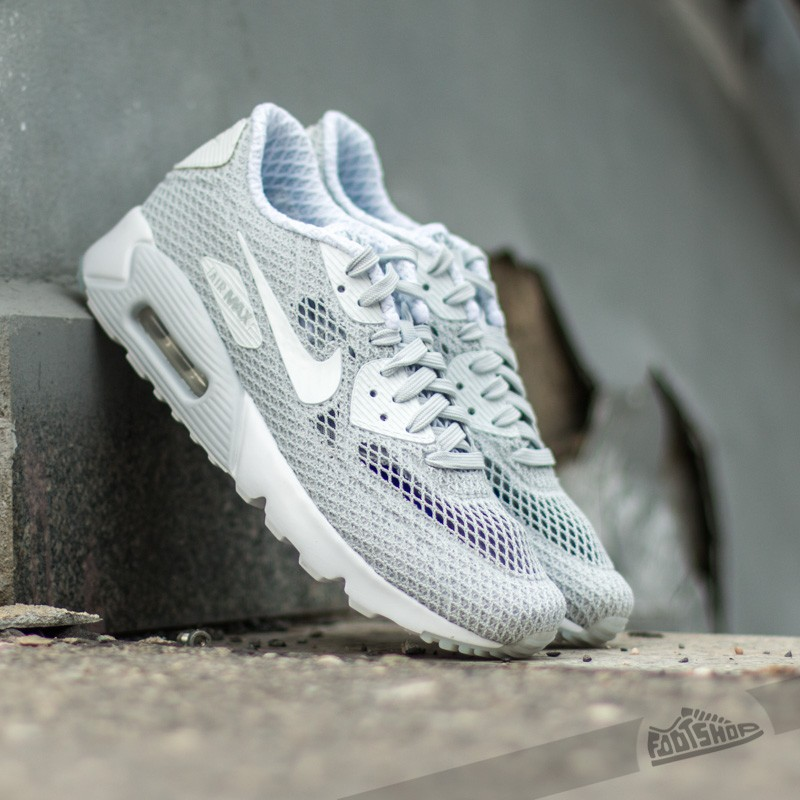 f494d2e574 Nike Air Max 90 Ultra BR Plus QS Pure Platinum/White | Footshop