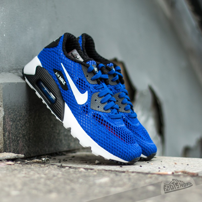 wholesale dealer 65480 37dca Nike Air Max 90 Ultra BR Plus QS Racer Blue White