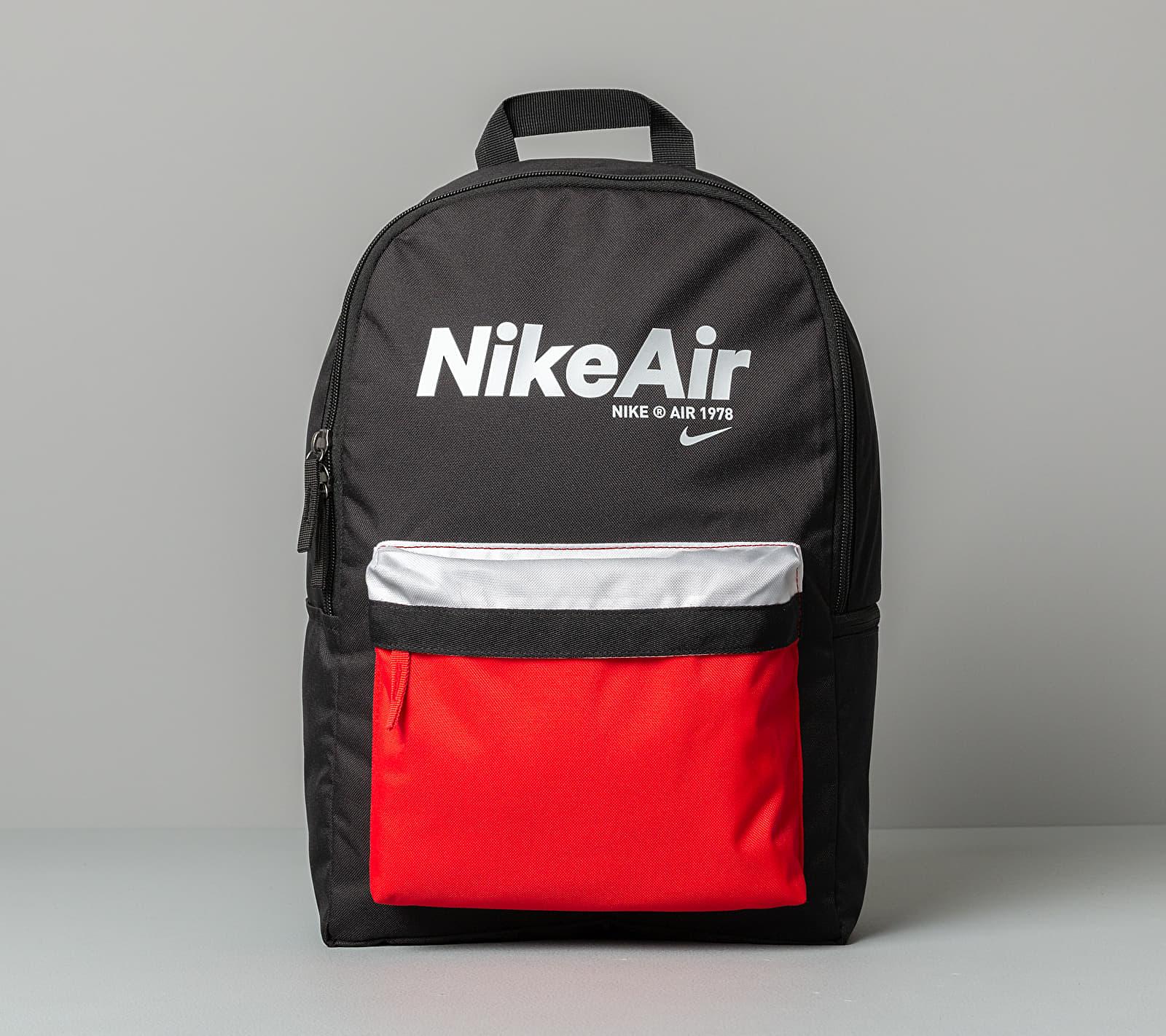 Nike Heritage Backpack - 2.0 Nike Air Black/ University Red/ White 25 litrov