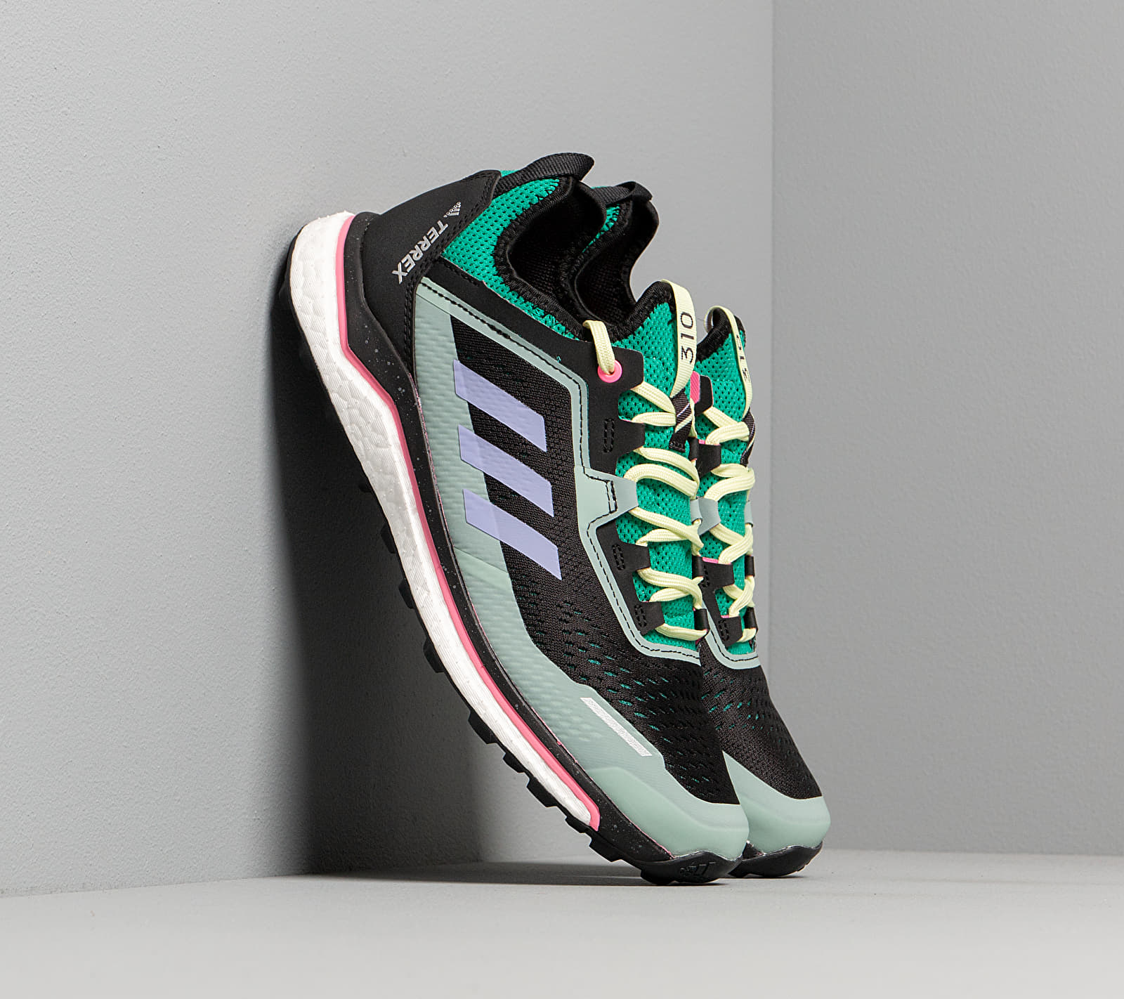 adidas Terrex Agravic Flow Glow Green/ Light Purple/ Green Tint EUR 47 1/3