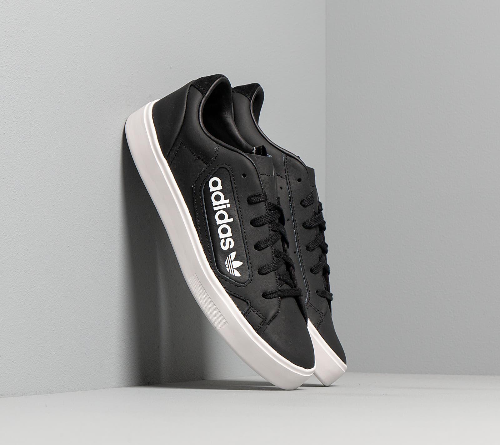 adidas Sleek W Core Black/ Crystal White/ Ftw White EUR 39 1/3
