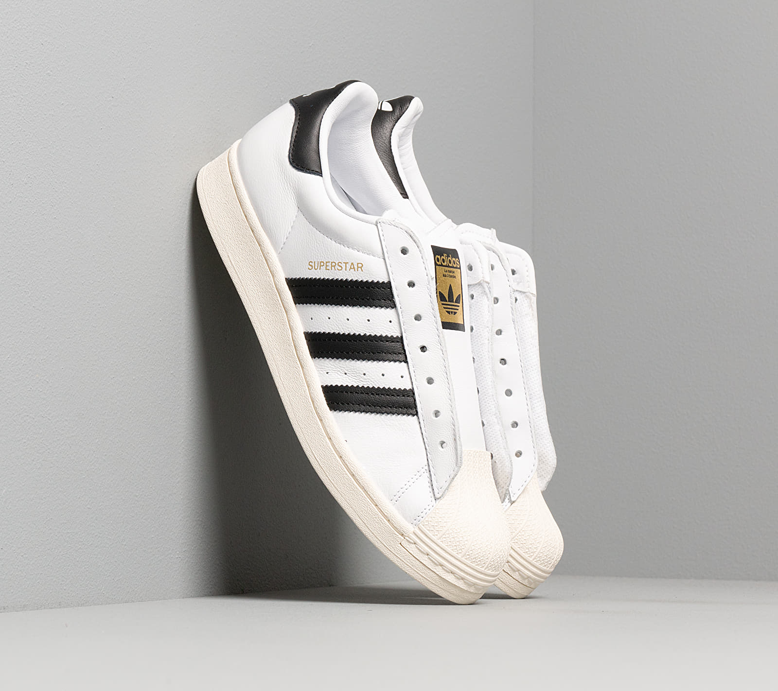 adidas Superstar Laceless Ftw White/ Core Black/ Ftw White EUR 41 1/3