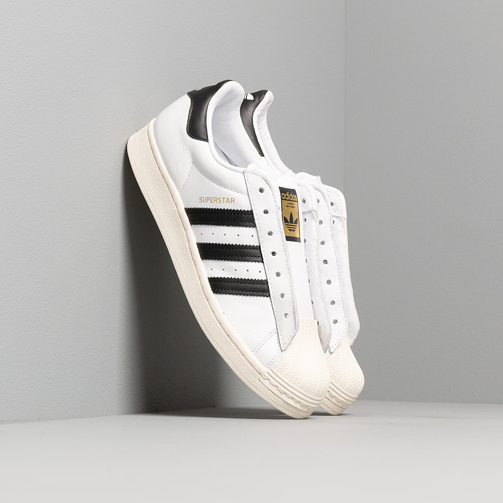 Férfi cipők adidas Superstar Laceless Ftw White/ Core Black/ Ftw White