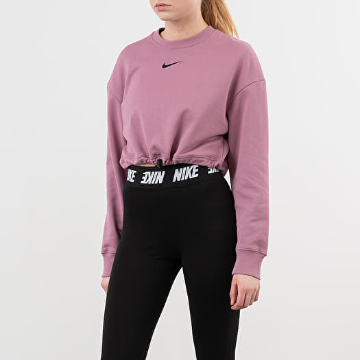 soldadura aficionado Fantástico  Sweatshirts Nike Sportswear Swoosh FT Crewneck Plum Dust/ Black | Footshop