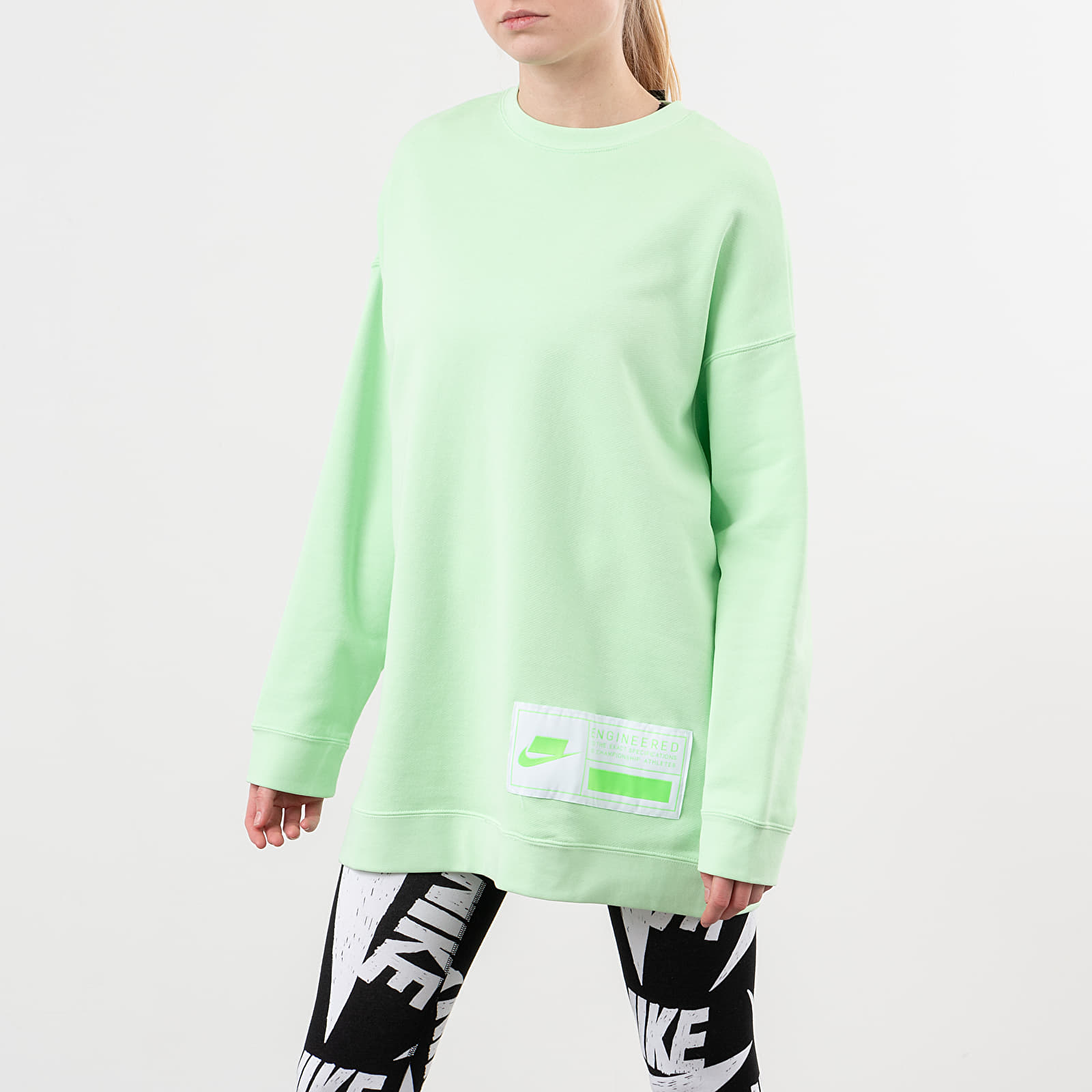 nike fleece oversized