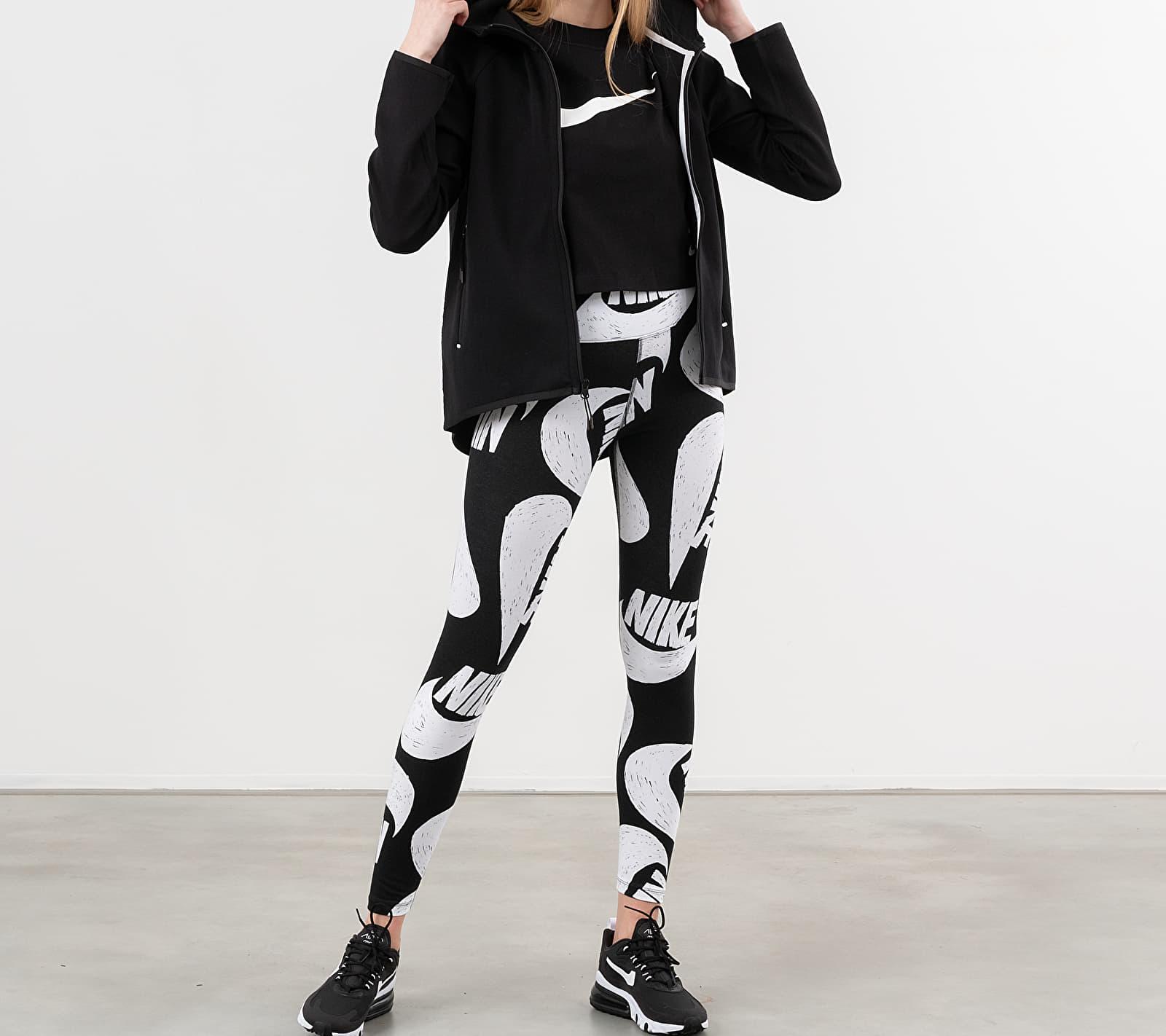 Nike Sportswear Tech Fleece Fullzip Hoodie Black/ Black/ White L