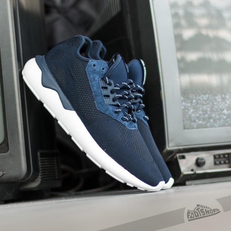 pretty nice 0ea61 7c589 adidas Tubular Runner Weave Collegiate Navy/White | Footshop
