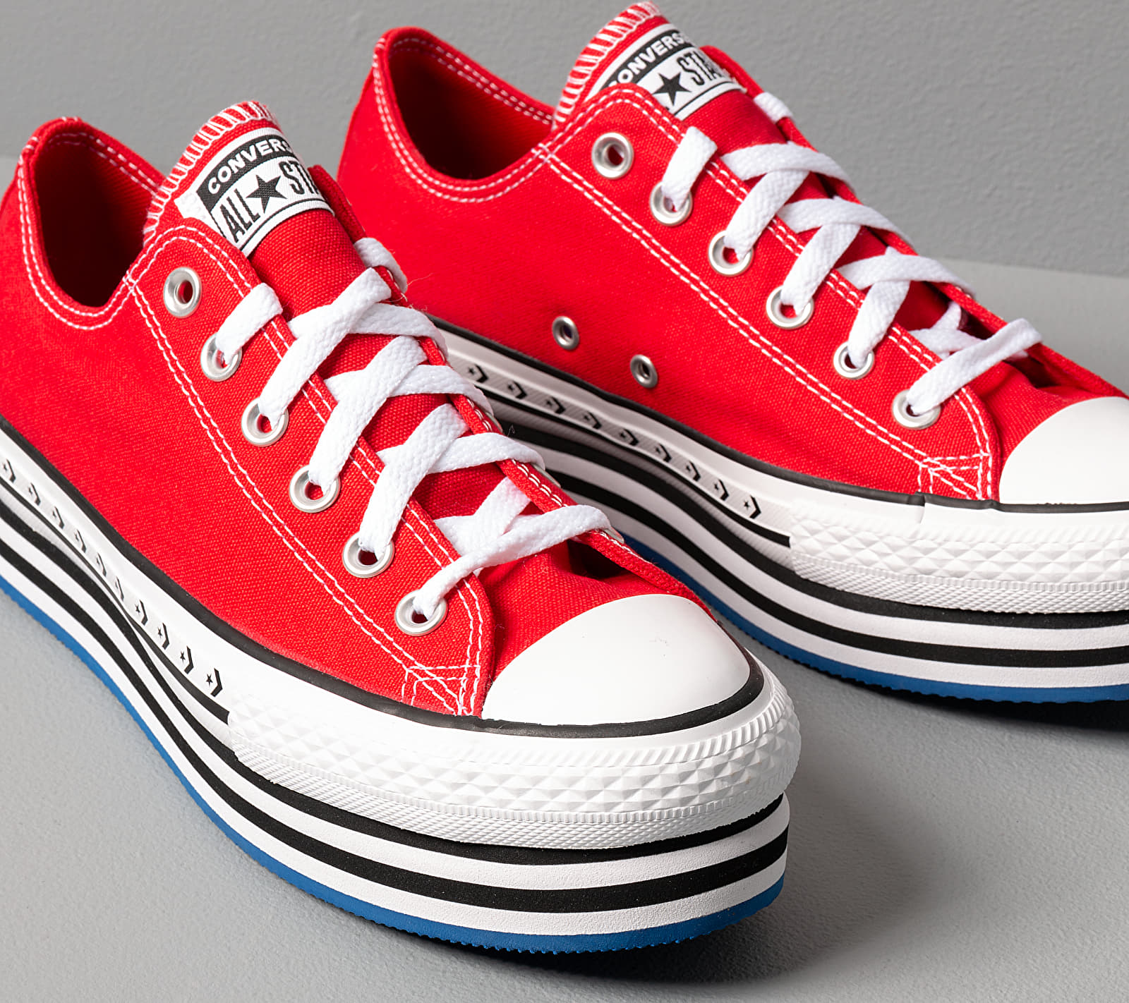 Converse Chuck Taylor All Star Platform EVA Medium Red
