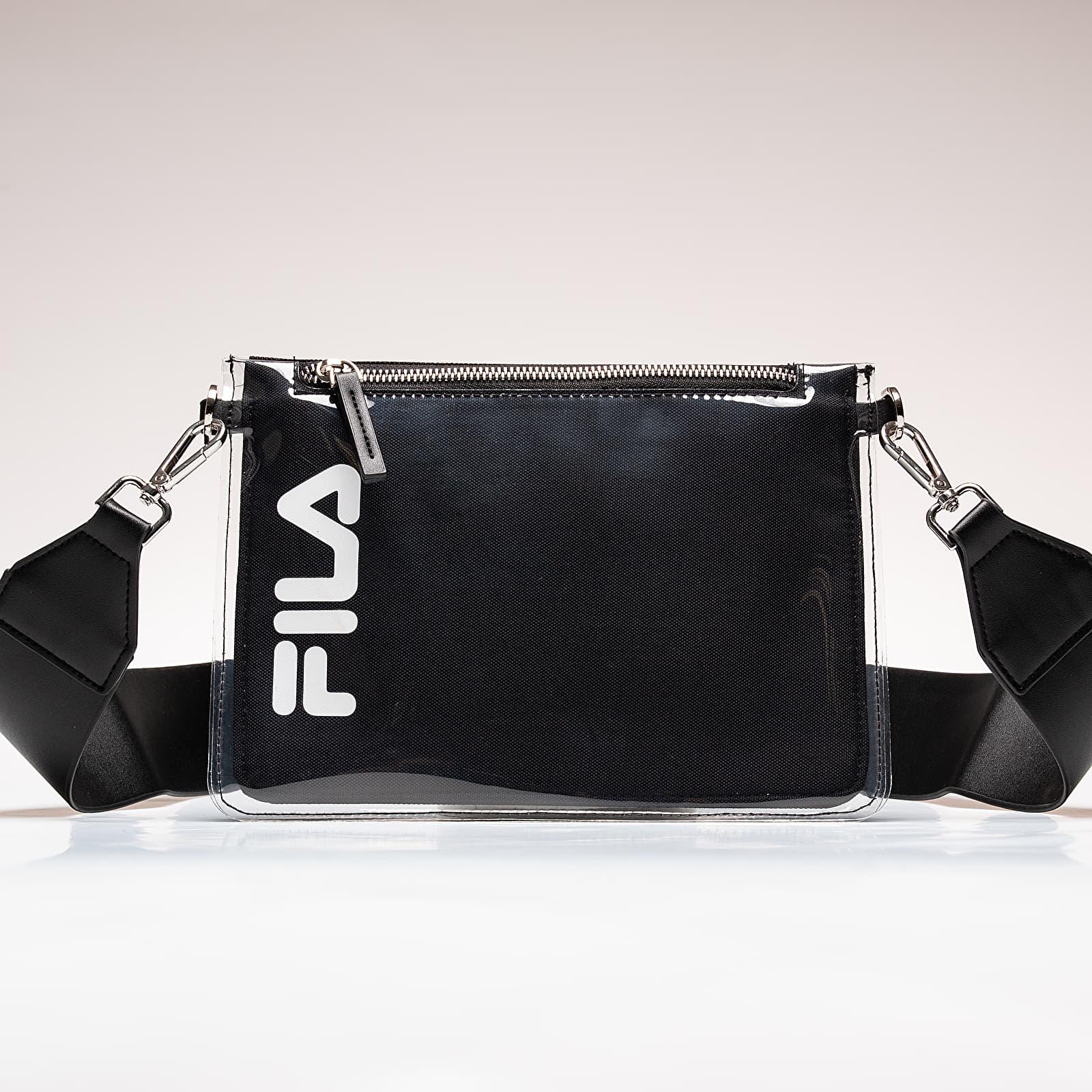 Sacs FILA Transparent Cross Body Bag Black