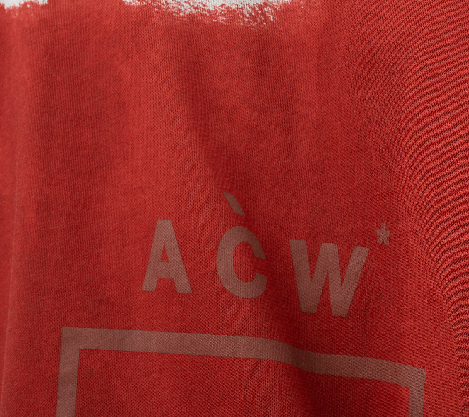 A-COLD-WALL* Painted Tee Grey Violet, Gray