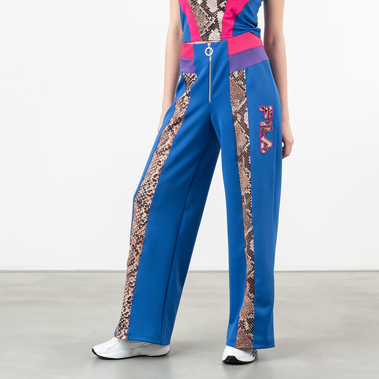 Džíny a kalhoty FILA Nero Reina Pants Royal Blue