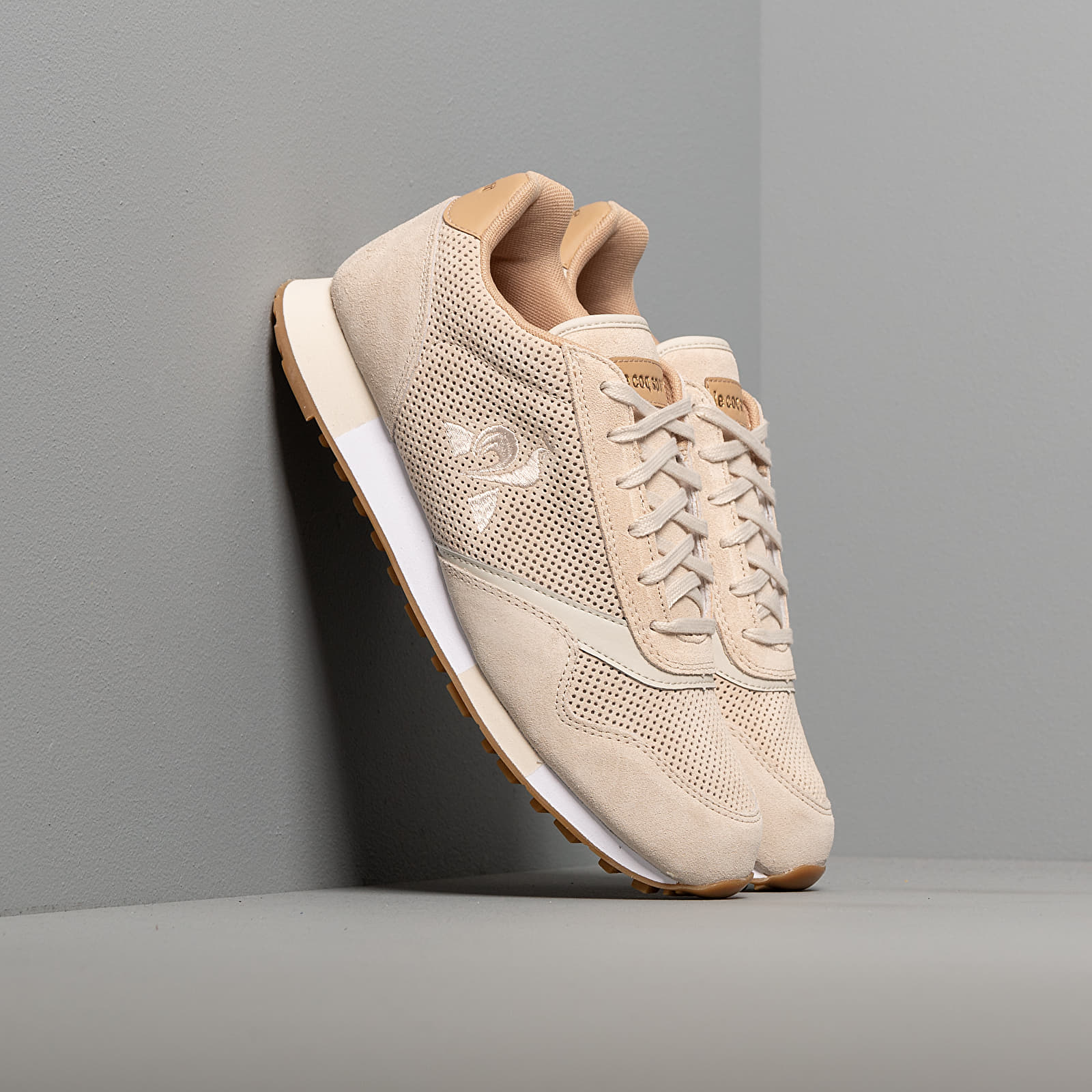 Férfi cipők le coq sportif Delta Premium Turtle Dove
