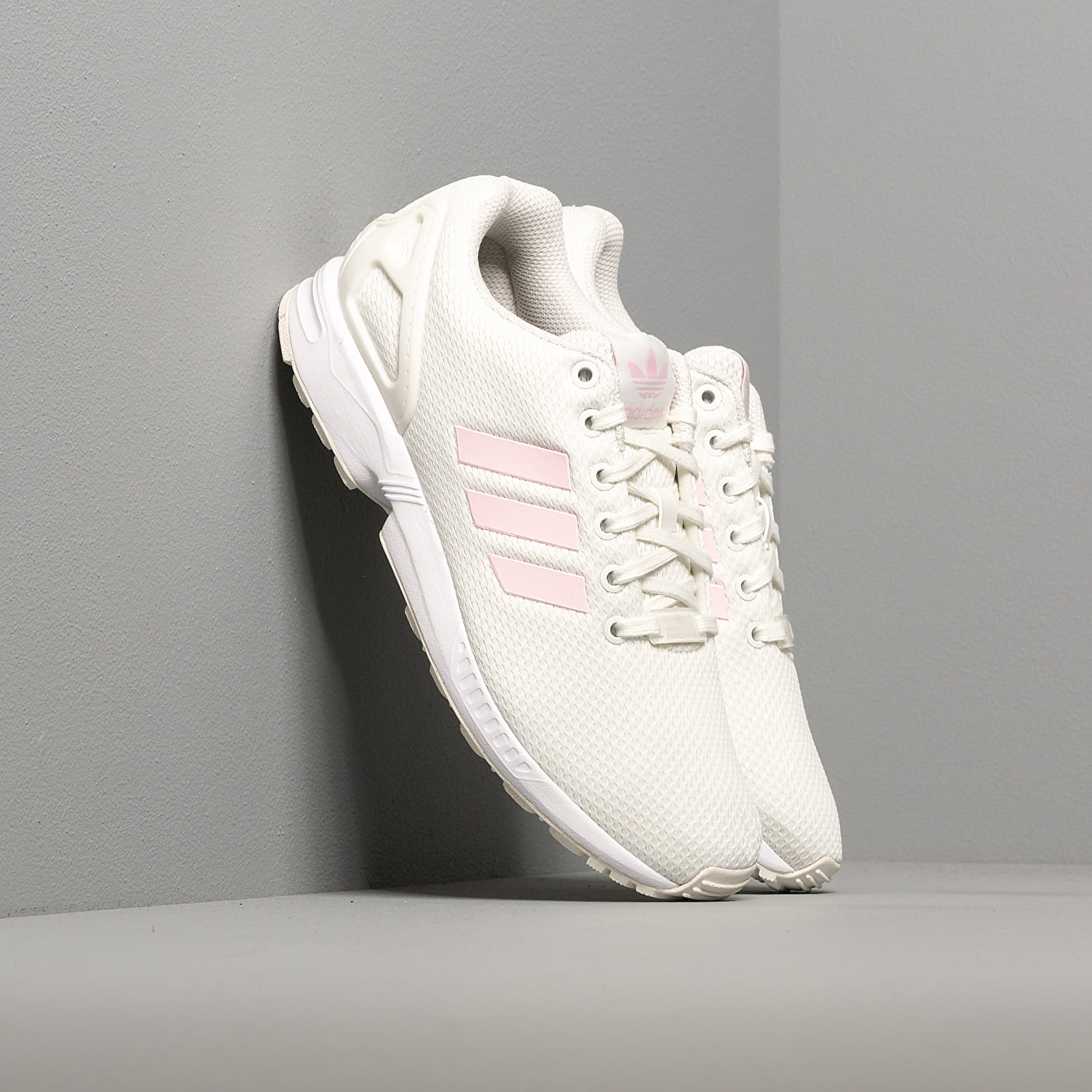 Women's shoes adidas ZX Flux W White Tint/ Clear Pink/ Core Black
