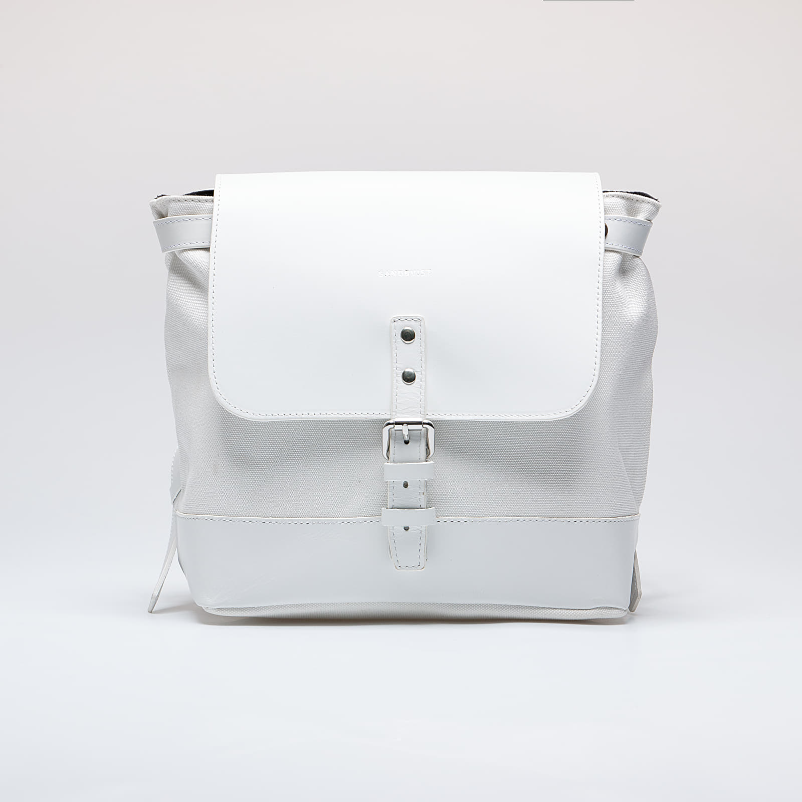 Backpacks SANDQVIST Vilda Off White/ White Leather