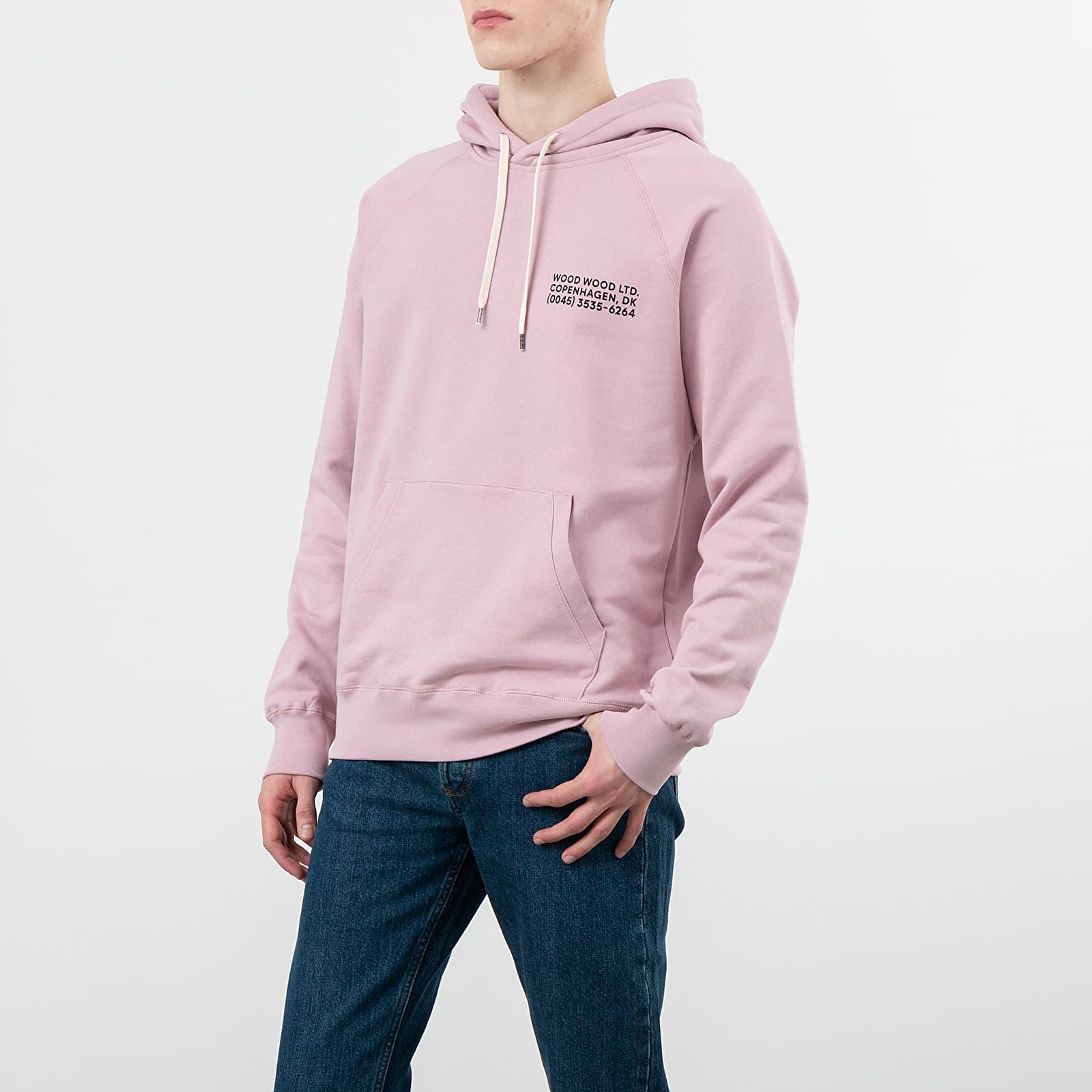 Puloveri i džemperi Wood Wood Fred Hoodie Lilac