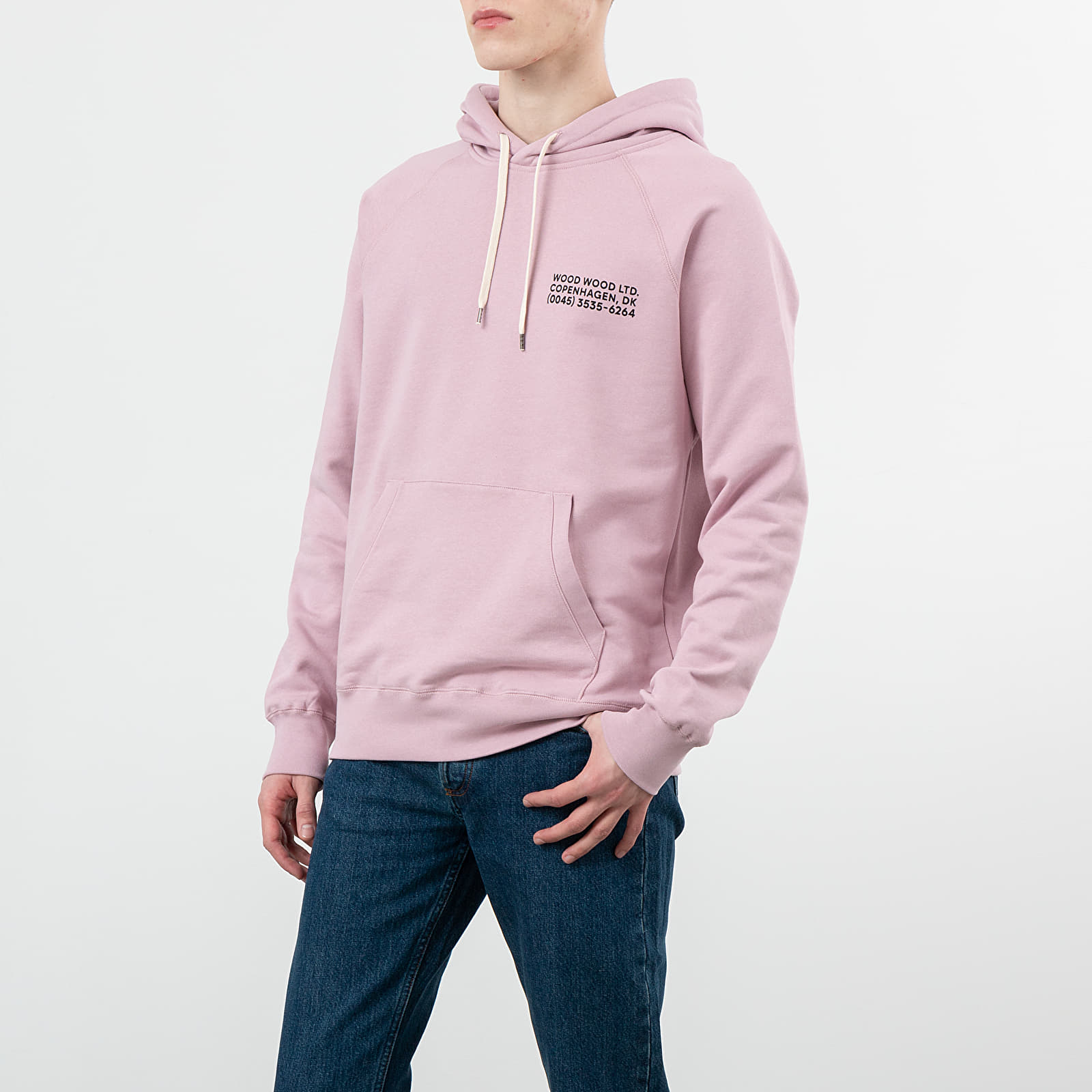 Sweatshirts Wood Wood Fred Hoodie Lilac