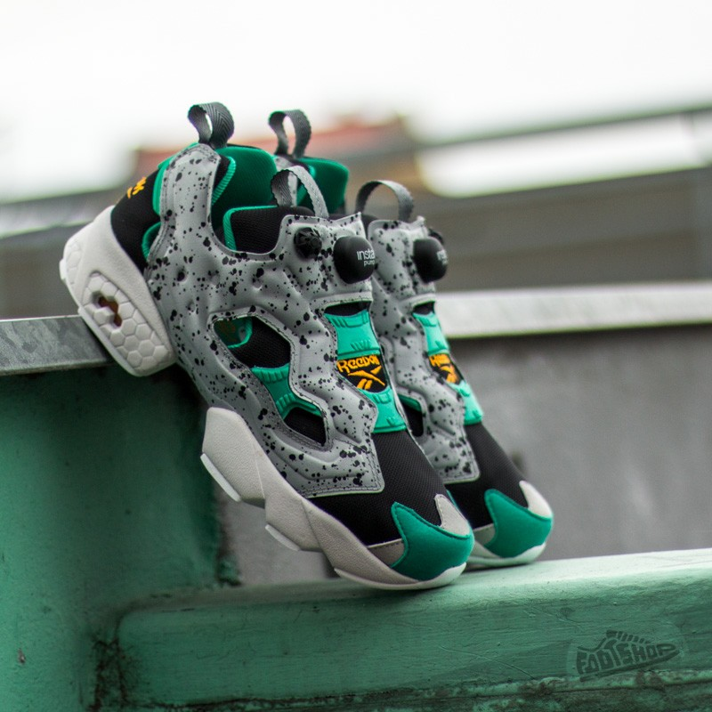 official photos 610a2 be2d1 Puma Instapump Fury Sp Black  Grey  Green  White  Gold