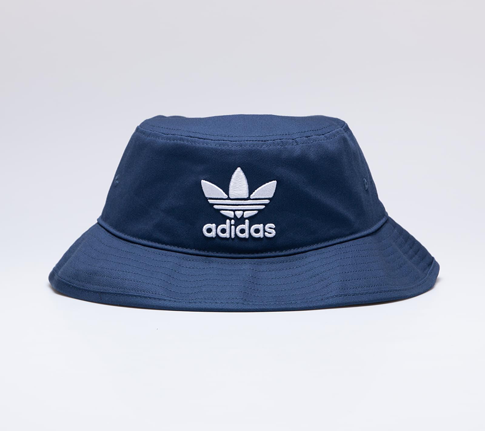 adidas Adicolor Bucket Hat Night Marine/ White, Blue