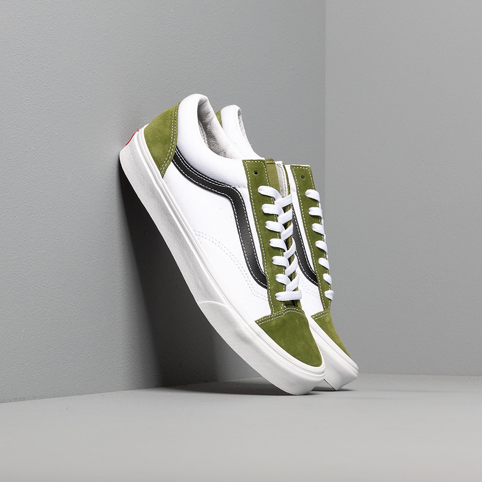 Мужская обувь Vans Style 36 (Retro Sport) Green/ White