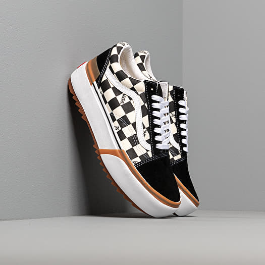 vans stacked checkerboard