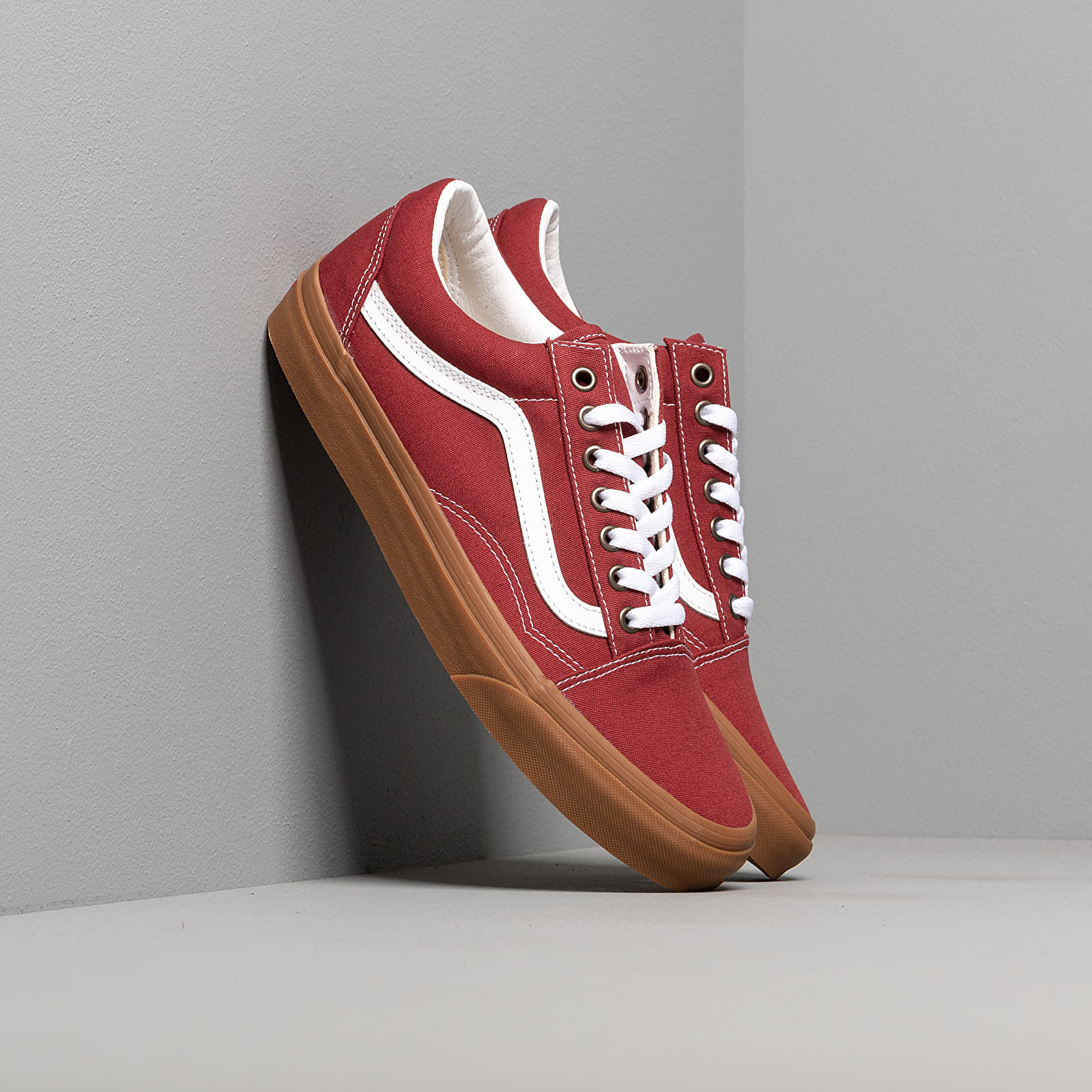 gum old skool vans