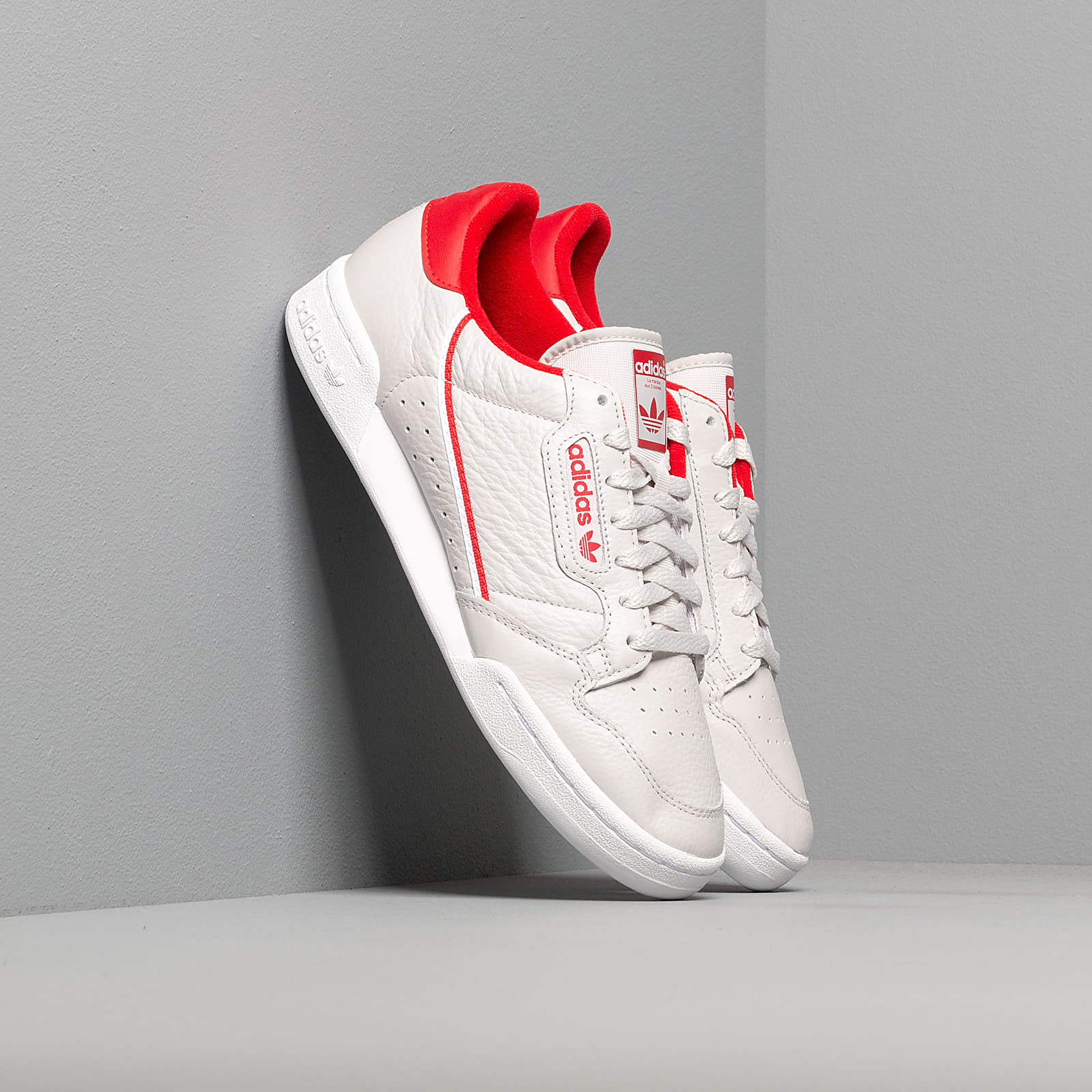 Men's shoes adidas Continental 80 Grey One/ Scarlet/ Ftw White