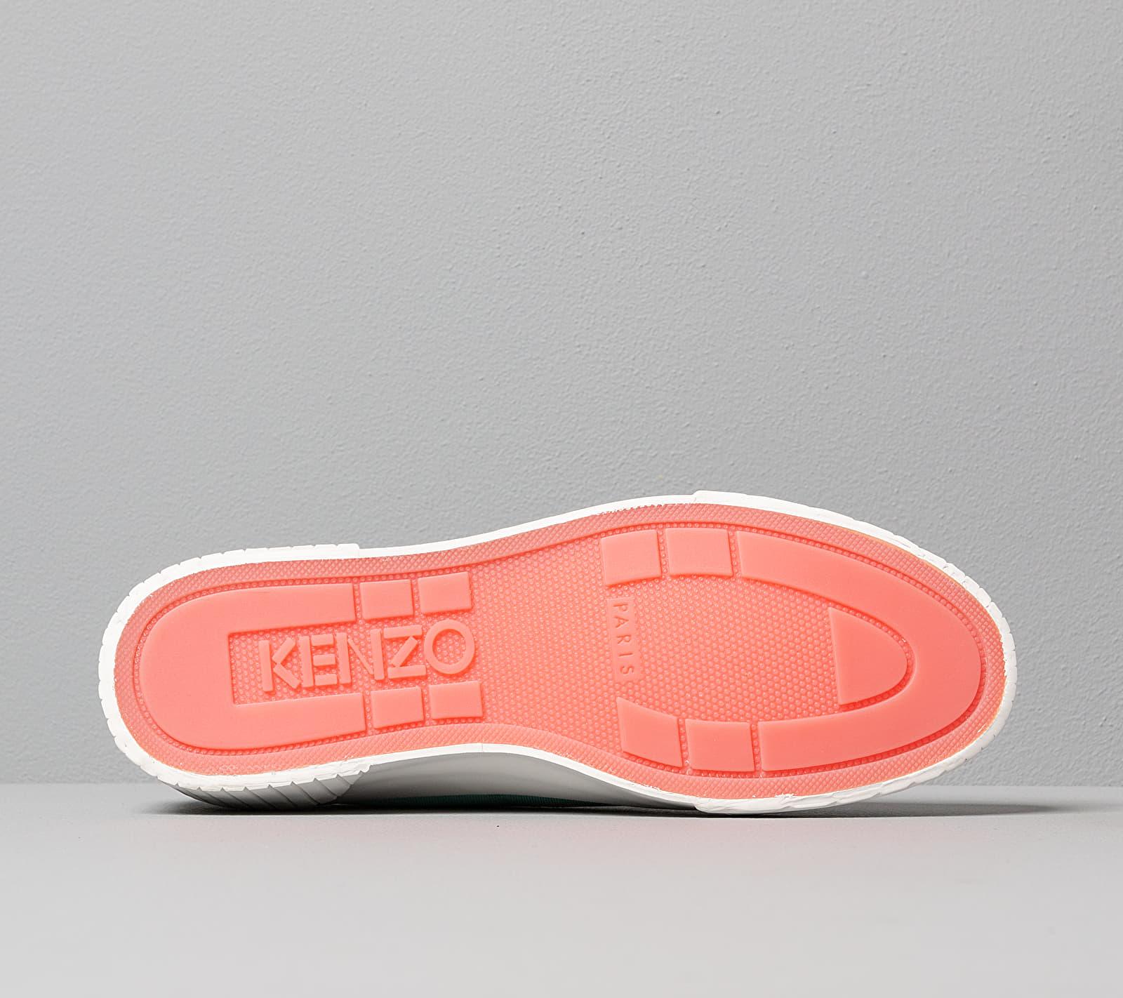 Kenzo Volkano Low Top Sneakers Aqua, Green