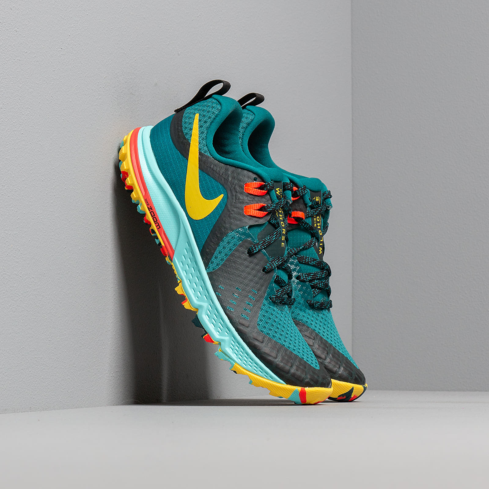 Nike Wmns Air Zoom Wildhorse 5 Geode Teal Chrome Yellow Black   Footshop