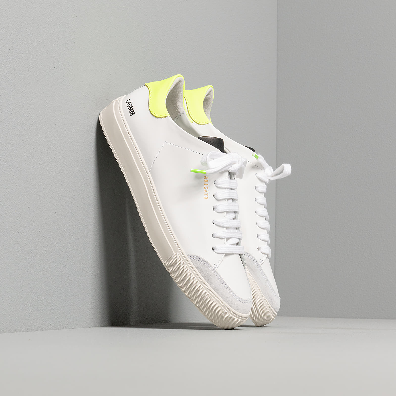 Women's shoes Axel Arigato Clean 90 Triple White/ Neon Yellow
