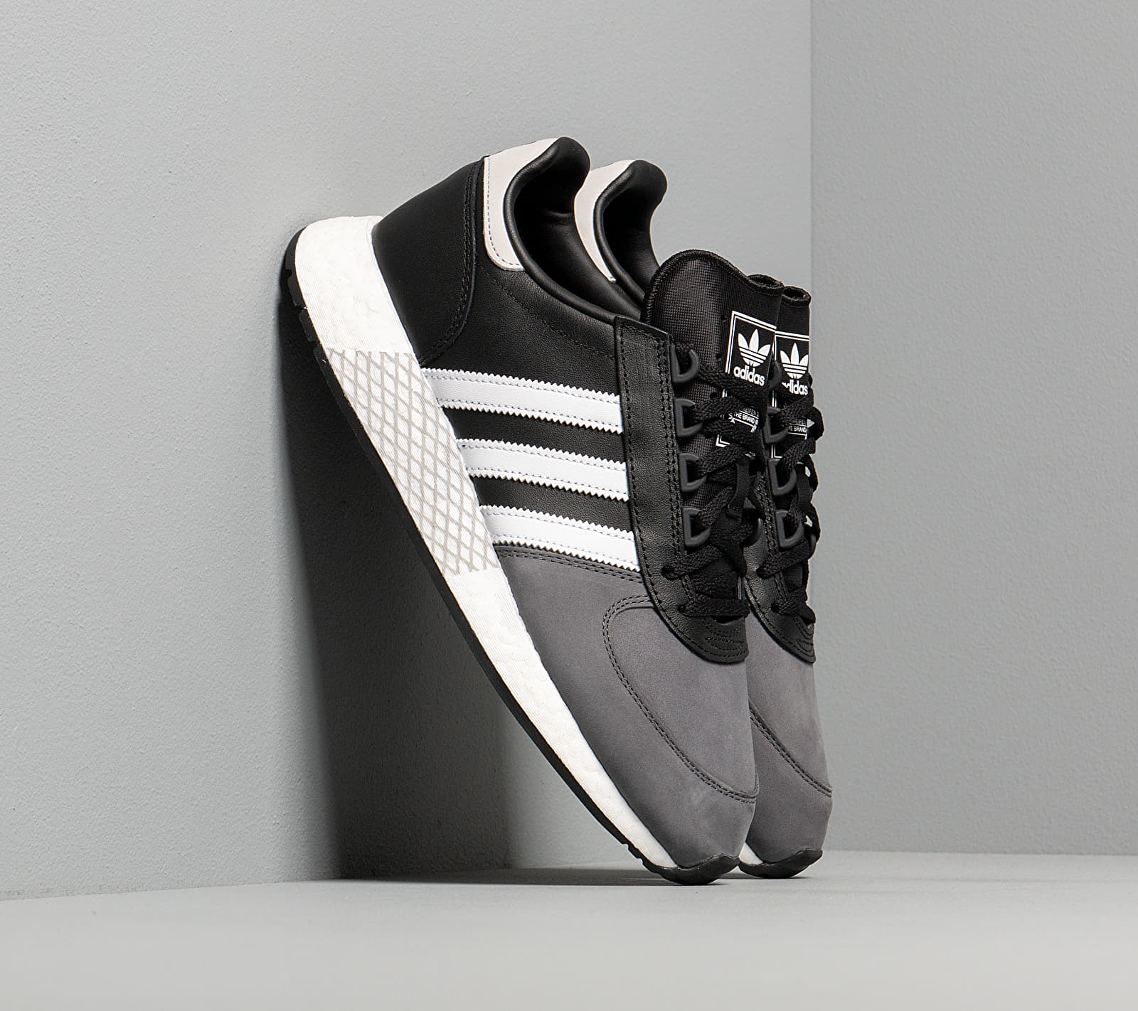 adidas Marathon Tech Core Black/ Ftw White/ Grey Six EUR 46 2/3