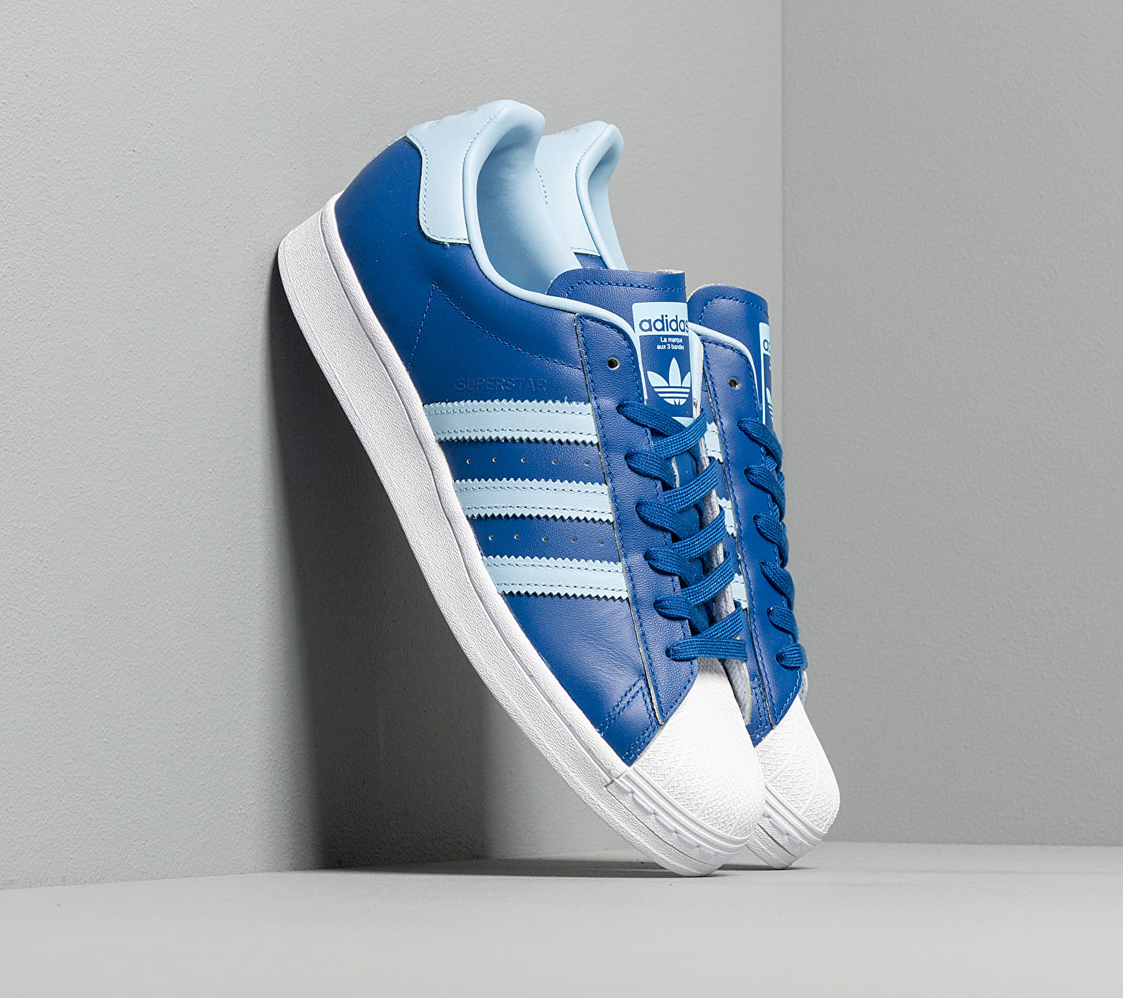 adidas Superstar Core Royal/ Clear Sky/ Ftw White EUR 45 1/3