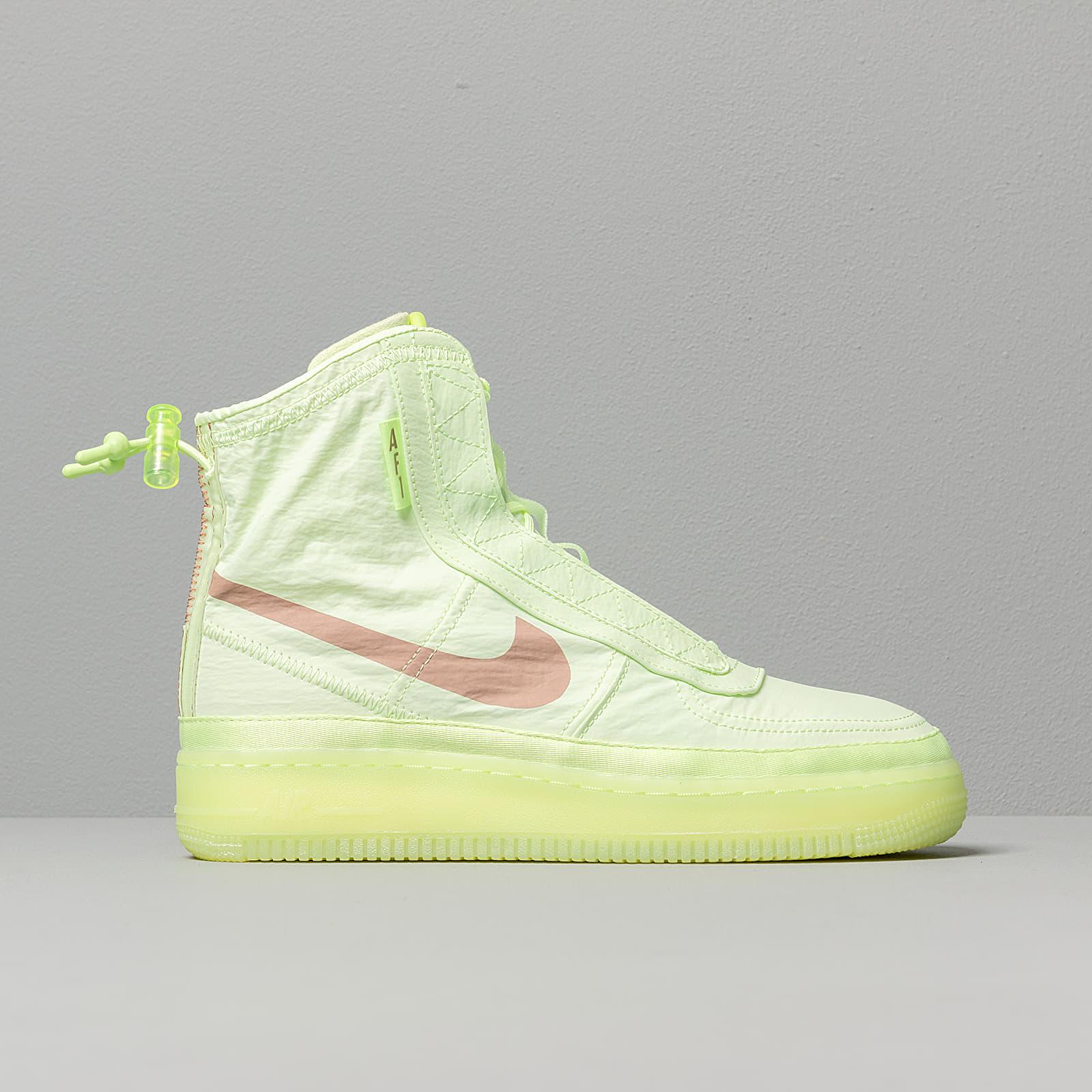 Nike W Air Force 1 ShellBarely Volt Desert Dust Barely Volt