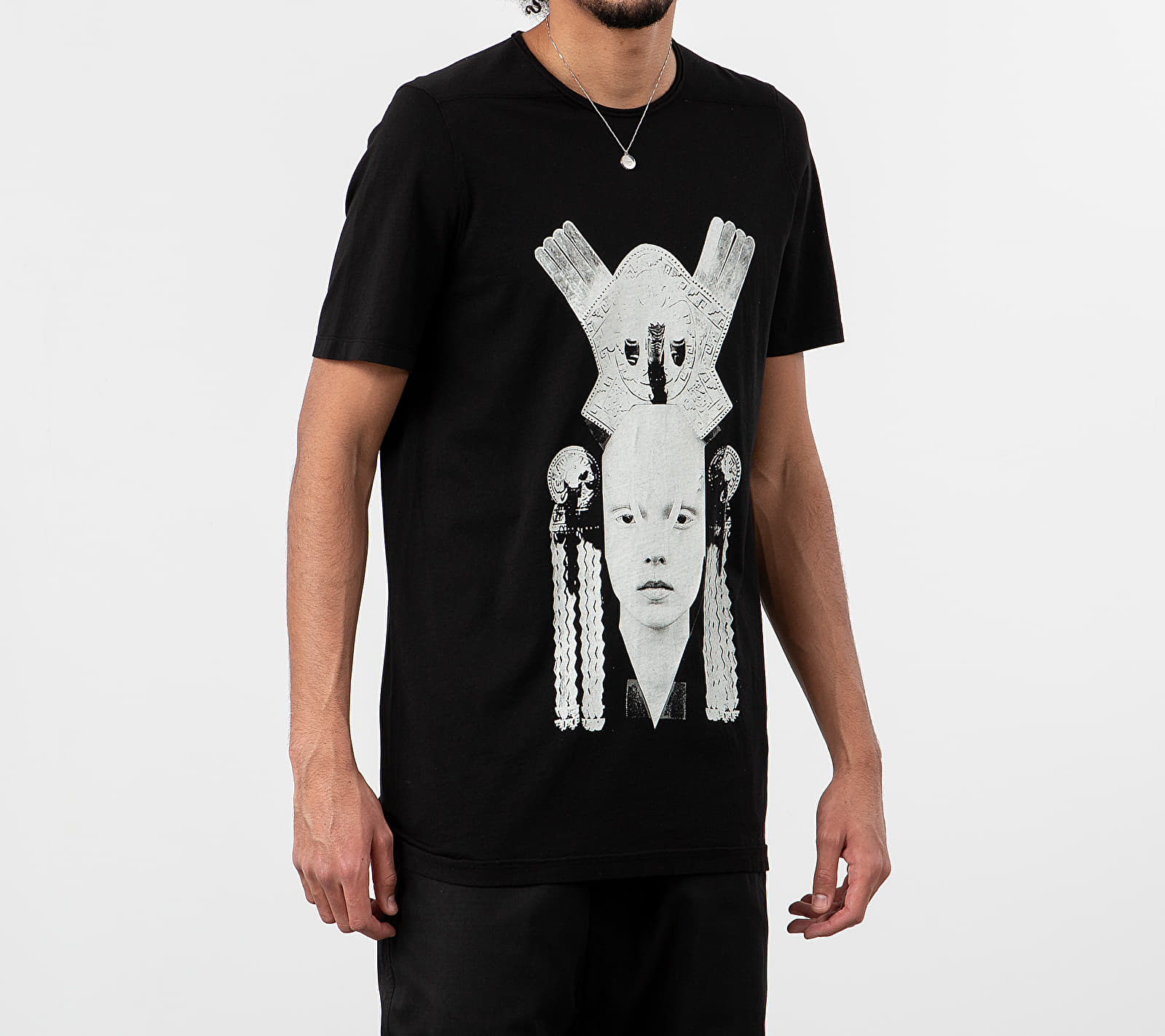 Rick Owens DRKSHDW Level Tee Black/ Pearl M